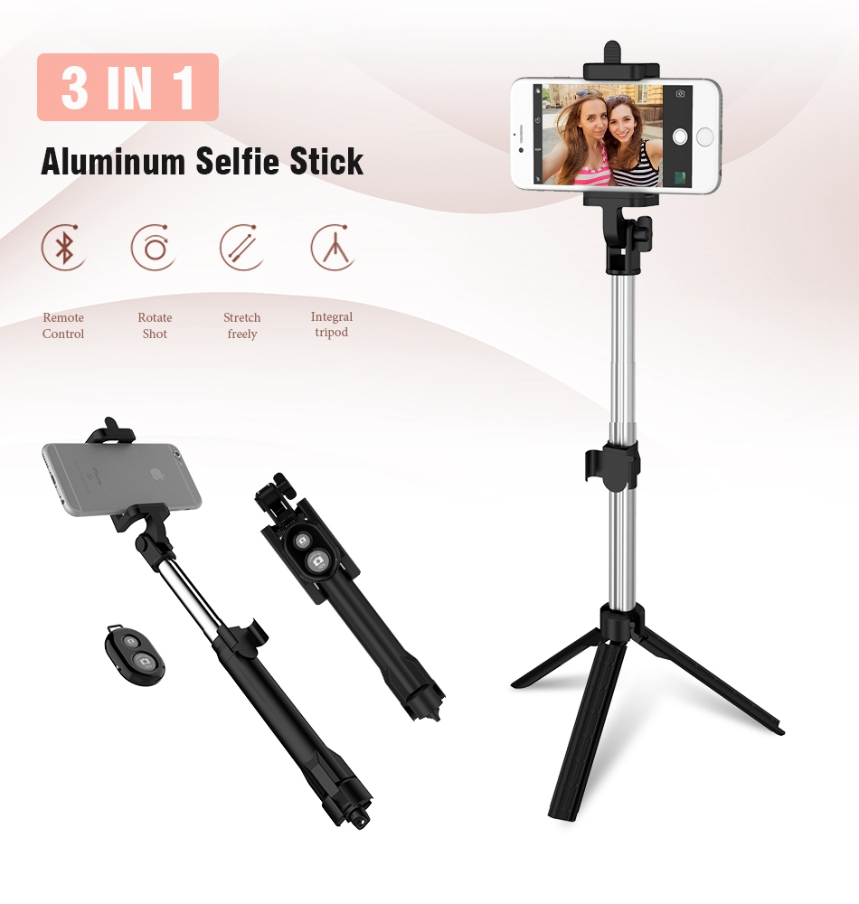 Bluetooth Selfie Stick Tripod (1)