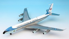 Fine rare IF 1/200 VC-137 Boeing 707 passenger aircraft B707-300 Air Force One  Polished finish Alloy aircraft model