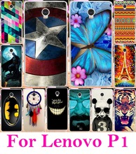 Soft TPU & Hard PC Phone Casesfor Lenovo Vibe P1 Covers p1a42 P1c72 P1c58 Shell Hood Skin Fundas Capa Back Housing Cover - AKABEILA Official Store store