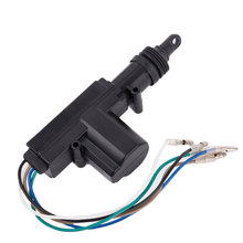 Car Central Locking System 5 Wire Automatic Power Door Lock Actuator Motor Black