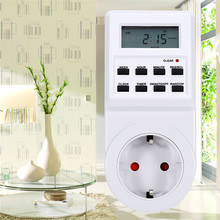 2017 Newest Plug-in Programmable Timer Switch Socket with Clock Summer Time Random Function new arrival EU/US/UK/AU Plug