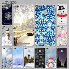 Lavaza Winter New York Central Park Snow Case for Xiaomi Mi 6 5 5s Plus Redmi 3 3S 4 Pro Prime 4A Note 2 3 Pro 4 4X mi6 mi5 mi5s(China)