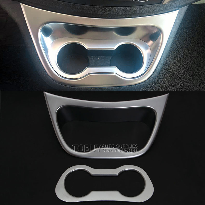 DEE Car ABS Accessories for Mercedes-Benz VITO 2016 Interior Water Glass Frame Trim Strip Chrome Brilliant Plate Sticker <br>