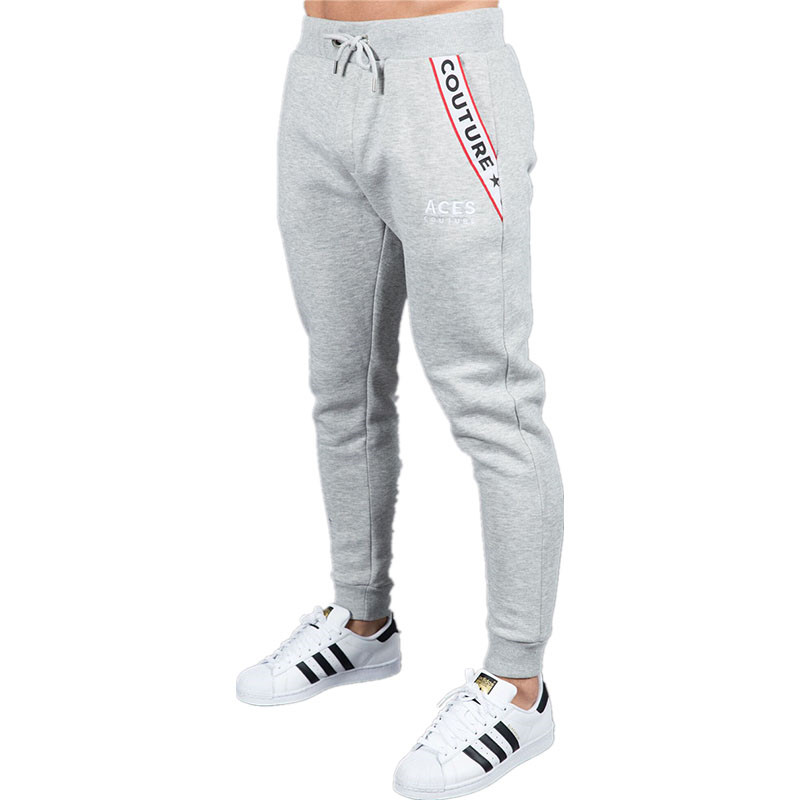 New boutique Brand Gyms Fitness Mens Joggers Casual Men Sweatpants Joggers Trousers Sporting Clothing Bodybuilding Pants men 12