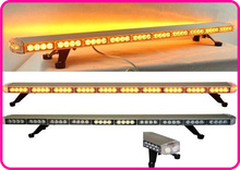 Higher star 120cm 86W Led car emergency lightbar,strobe warning light bar with remote for police ambulance fire truck warerproof(China)