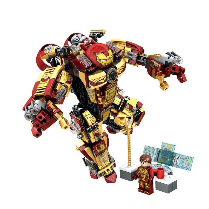 Cute Heroes  MK36 Armor Mark Builiding Blocks Brick Figures Model Sets Toys