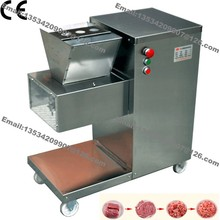 800KG/H Stainless Steel 2.5mm-25mm Customized Blade 110v 220v Electric Commercial Fresh Meat Slicer Cutter Processing Machine