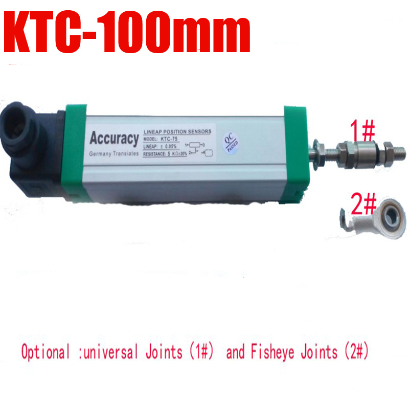 KTC-100mm electronic scale , Linear displacement sensors,Trolley injection molding machine Electronic ruler<br>
