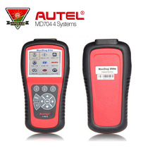 100% Original Autel MaxiDiag Elite MD704 Code Reader 4 system EOBD Auto Scanner for French/Italian Cars Engine/TM/ABS/SRS