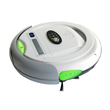 (Free to Russia ) 4 In 1 Multifunctiol Robot Vacuum Cleaner (Vacuum,Sweep,Sterilize),LCD,Timing Set,Self Charge,LIECTROUX