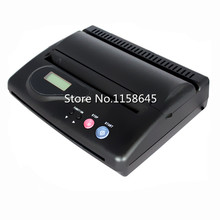 Black Professional LCD Display Original USB Tattoo thermal Copier Stencil Copy Tattoo Transfer Machine A4 Paper Printer machine