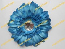 Free Shipping Wholesale Flameray Gerbera NEW DESIGN African gerbera Hair flower daisies flowers 80pcs Boutique(China)