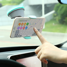 KISSCASE 360 Degree Adjustable Pop Car Holder GPS Socket+Sucker Disc 3 in 1 Car Phone holder Universal Stand Car Mobile Holders(China)