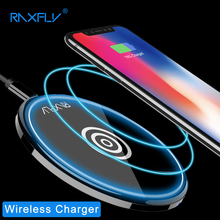 Buy RAXFLY Wireless Charger Adapter iPhone X Qi Wireless Charger Pad Samsung Galaxy Original Wireless Charger Charging Dock for $8.99 in AliExpress store
