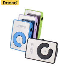 2017 New Gift Sport Mini Mp3 Player Portable Music Player With Micro TF Card Slot (MP3 ONLY) Can Use As USB Flash Dish(China)