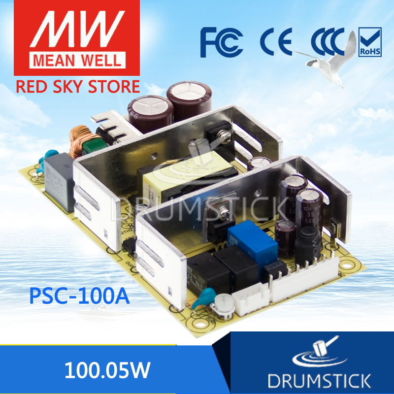 Selling Hot MEAN WELL PSC-100A 13.8V meanwell PSC-100 100.05W with Battery Charger(UPS Function) PCB type<br>