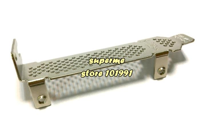 Cable Length: Baffle, Color: 1PCS Computer Cables 8CM Half High Proflie Bracket Baffle for LSI MegaRAID SAS 9220 9240-8i 9240-4i with Screws