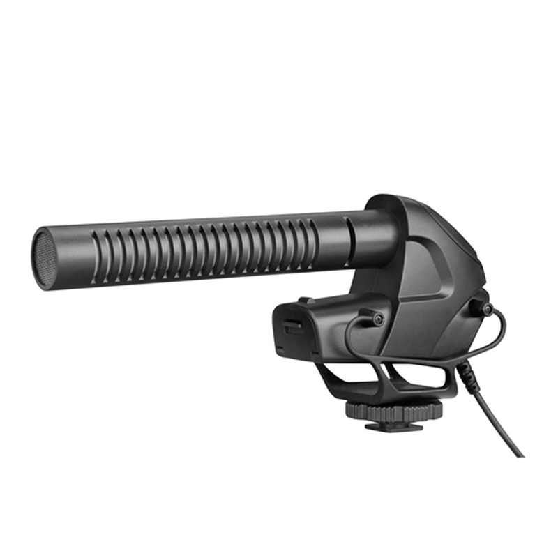 BY-BM3031 On-Camera Shotgun Microphone PAD Switch: -10dB Video Cameras Recorders 20dB /& 3.5mm Input for DSLR Cameras