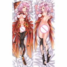 Anime Guilty Crown GC Sexy Hugging Body Pillow Case Pet Pillowcase Cover Covers Decorative Pillows Modified 2way Tricot(China)