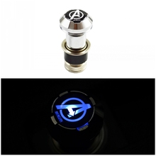 nrz Avengers Blue LED Light Car Cigarette Lighter For AUDI A1 A3 A4 A5 A6 A7 A8 Q3 Q5 Q7 R8 RS5 RS7 S5 S8 RS8(China)