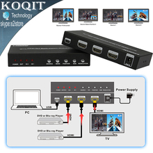 HDS-821P HDMI 2X1 Seamless Switch Picture Division PIP POP Multi Viewer 2 Port Converter 4 Mode HDMI All Show One HDTV Display(China)