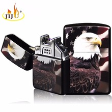 JIJU Electronic Cigarette lighter Windproof Metal Colorful Optional USB Rechargeable Flameless Electric Arc Cigar JL-220V(China)