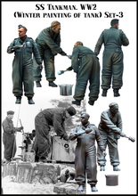1:35 WWII German tank crews paint two