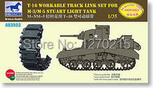 Bronco 1/35 AB3553 M3/M5 Stuart T-16 Workable Track Link(China)