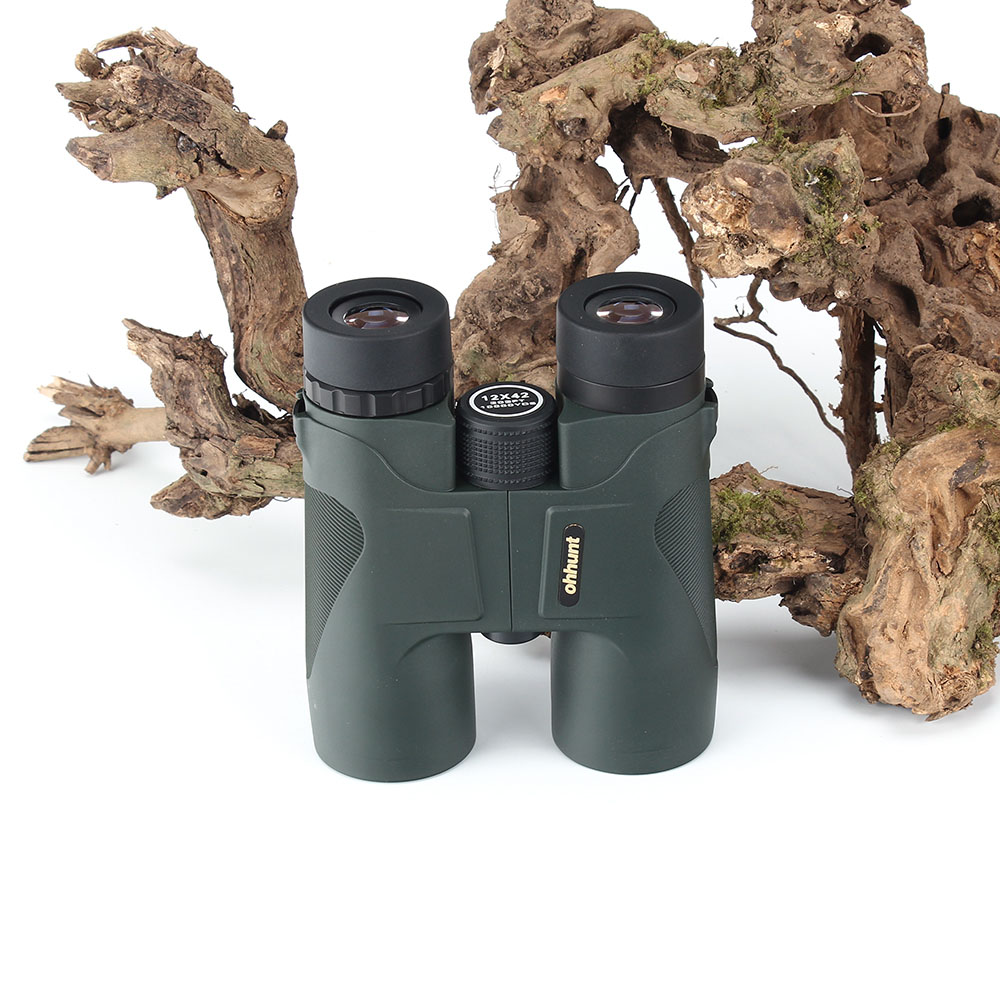 KANDAR Military 12X42 HD Telescope Wide-angle Power Zoom Binoculars No Infrared Eyepiece Hunting Scope for Hiking Camping (2)
