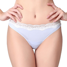 Victoria's Masquerade Women's Sexy Lace Brief Super Soft Modal Underwear Girls Lovely Panties For Women 7 Colors Available(China)