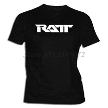 Camiseta Ratt XXL- XL- L- M- S Size T Shirt Music Glam Metal Band Tee(China)