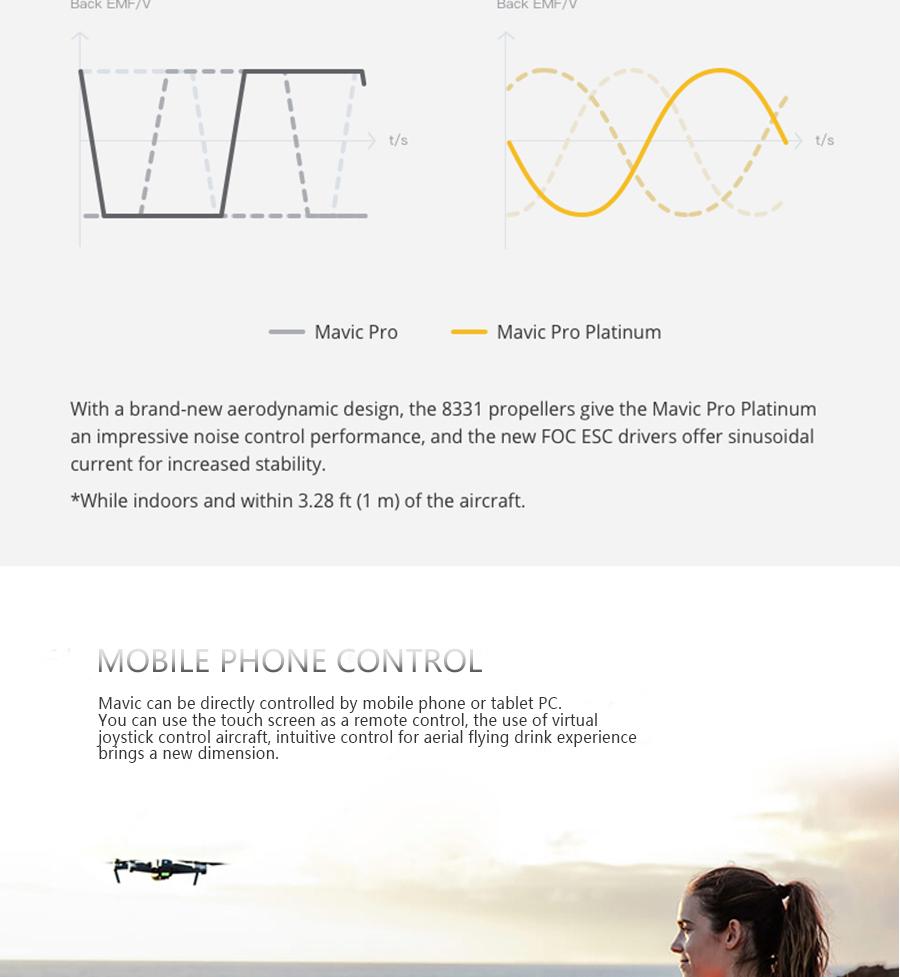 DJI Mavic Pro Platinum Fly More Combo & dji mavic pro quadcopter 12 mil. 4K HD Video Recording drone 7 KM Remote Control 30 mins_05
