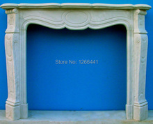 custom made stone fireplace mantel European concise style living room fireplace