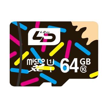 LD Carte Micro Sd 64 GB Classe 10 Carte Mémoire UHS-1