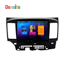 "Dasaita 10.2"" Android 6.0 Octa Core Car DVD GPS player for Mitsubishi Lancer 10 EVO Stereo Auto Radio Head unit Multimedia(China)"