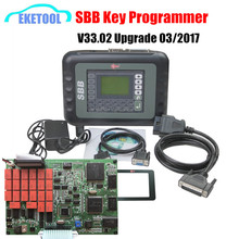 Express Fast Auto Professional Key Programmer SBB V33.02 Slica SBB Key Transponder No Tokens Need V33 Works Multi-Cars(China)