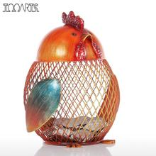 Tooarts Money Box Lovely Animal Chicks Coin Box Craft Modern Mini Piggy Bank Figurine Metal Home Decoration Accessories Gift(China)