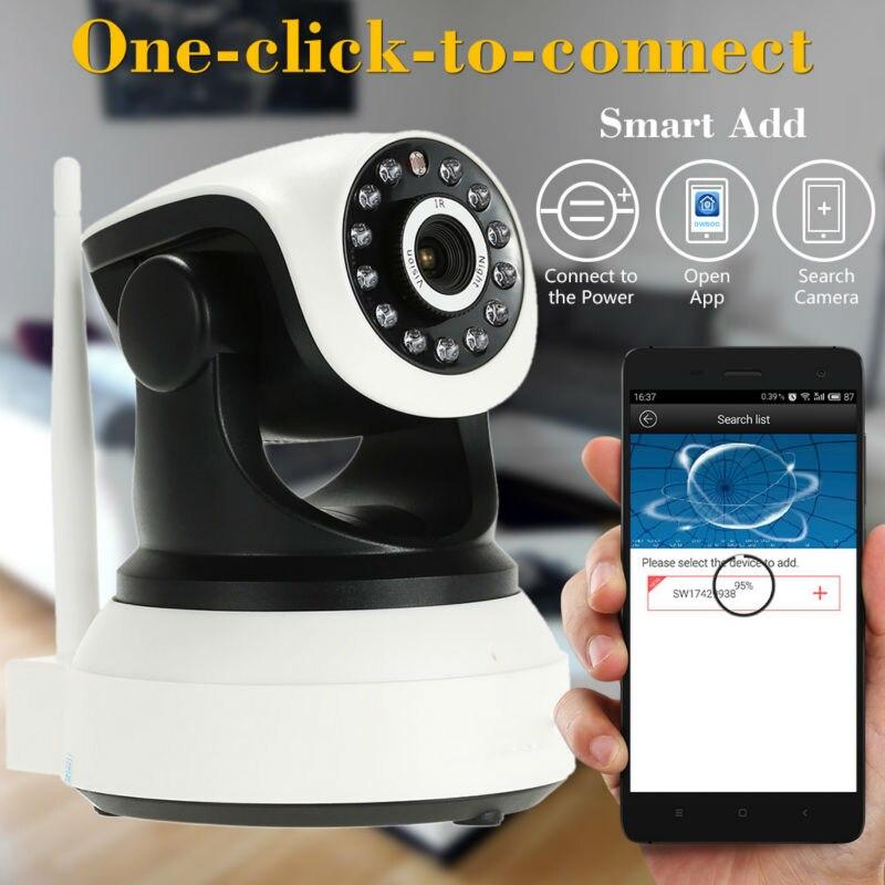 Remote control wifi ptz camera Night vision Video Surveillance Security CCTV Network P2P IR CUT Support TF Card Sacam<br><br>Aliexpress