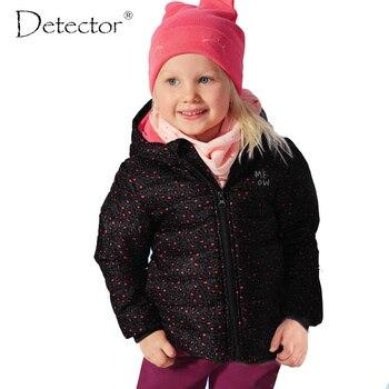 Detector de deportes de las muchachas niños de la capa del otoño invierno de ropa para niños niñas chaqueta impermeable a prueba de viento cálido abrigo al aire libre