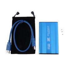 Hot Blue USB 3.0 HDD Hard Drive External Enclosure 2.5 Inch SATA HDD Case Box