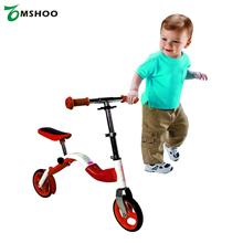Kids Scooter Height Adjustable Mini Scooter Toddler Child 2 Wheel Ride On Scooter Bike with Folding Handle And Seat