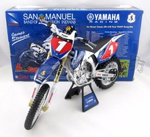 High simulation Brand NEW RAY 1:6 Diecast Motorbike Figure Yamaha San Manuel #1 Motorcycle Model Toys Brinquedos Collection Gift