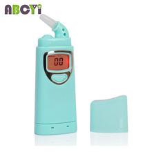 Prefessional Digital Breath Alcohol Tester Breathalyzer Nozzle Tester Alcoholimetro Personal Driving Diagnostic Tool Alcotester(China)