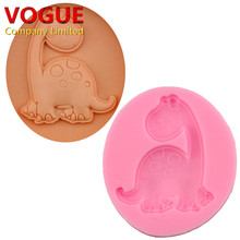 FDA Dinosaur Shape Fondant Silicone Mold, Jelly, Chocolate, Soap ,Cake Decorating Tools DIY Kitchenware ,Bakeware N3022