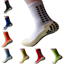 High Quality Football Socks Anti Slip Soccer Socks Men Good Quality Cotton Calcetines Free Shipping