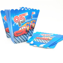 Buy HOT 6pcs Popcorn Box Lightning Mcqueen Party Supplies Disney Decoration Happy Birthday Party Supplies Child Favor Baby Shower for $2.49 in AliExpress store