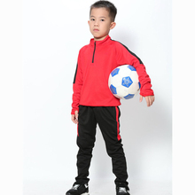 Survetement Kids/Boys Sports Soccer Training Football Basketball Running Gym Fitness shirt+Pants Tracksuits Suit Clothing sets(China)