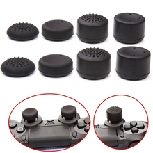 8pcs/Set Enhanced Analog ThumbStick Joystick Grips Extra High Enhancements Cover Caps For Sony Play Station PS4 Game Controller(China)