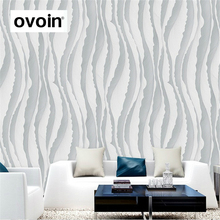 Feature Modern 3D Wallpaper Living room Background Wall Abstract Stripe Wall Paper Roll