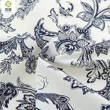 Upholstery Cotton Canvas Fabric For Sewing Hometextile DIY Handmade For Curtain Cushion Bag Shoes Flower Style 50x150cm B1-1-12(Hong Kong)